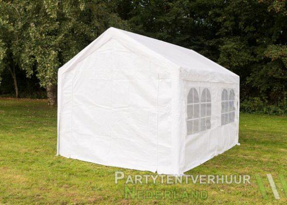 Partytent 3x4 meter achterkant huren - Partytentverhuur Roosendaal