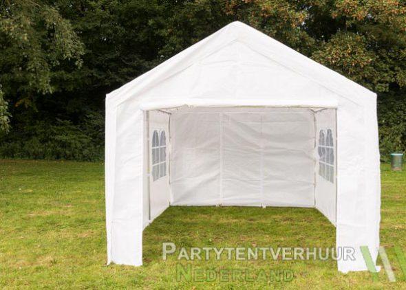Partytent 3x4 meter voorkant huren - Partytentverhuur Roosendaal