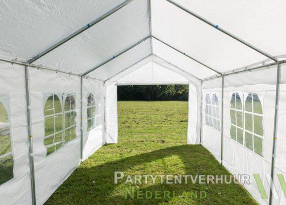 Partytent 3x6 meter binnenkant huren - Partytentverhuur Roosendaal