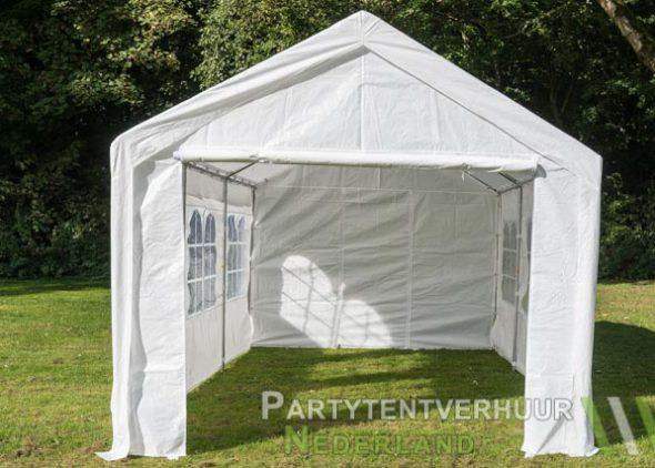 Partytent 3x6 meter voorkant huren - Partytentverhuur Roosendaal