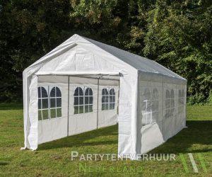 Partytent 3x6 meter zijkant huren - Partytentverhuur Roosendaal