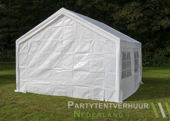 Partytent 4x4 meter achterkant huren - Partytentverhuur Roosendaal