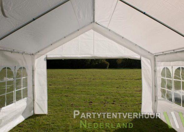 Partytent 4x4 meter binnenkant huren - Partytentverhuur Roosendaal