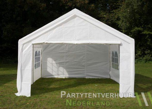 Partytent 4x4 meter voorkant huren - Partytentverhuur Roosendaal