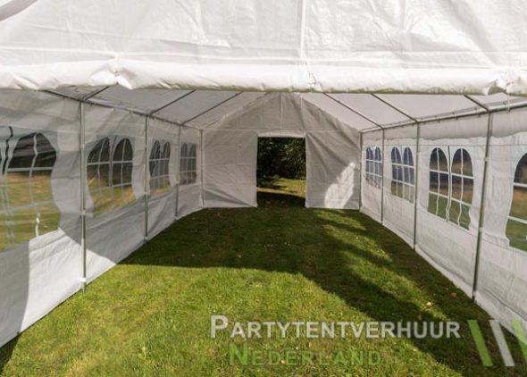 Partytent 4x8 meter binnenkant huren - Partytentverhuur Roosendaal