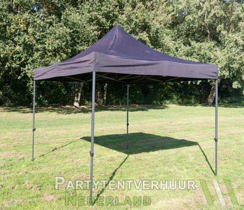 Easy up tent 3x3 meter schuin huren - Partytentverhuur Roosendaal