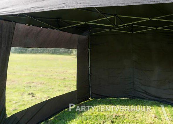Easy up tent 3x3 meter voorkant huren - Partytentverhuur Roosendaal