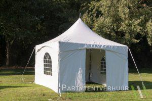 Pagodetent 4x4 meter voorkant huren - Partytentverhuur Roosendaal