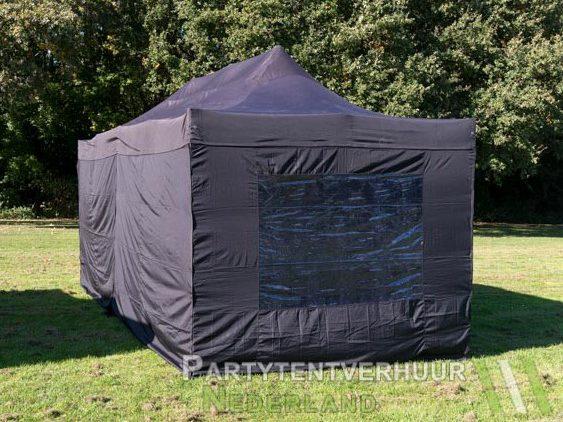 Easy up tent 3x6 meter achterkant huren - Partytentverhuur Roosendaal