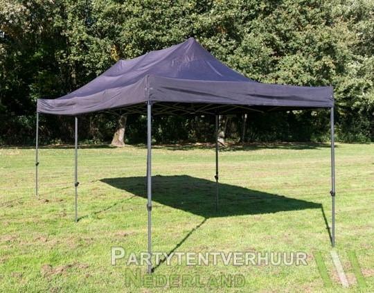 Easy up tent 3x6 meter schuin voorkant huren - Partytentverhuur Roosendaal