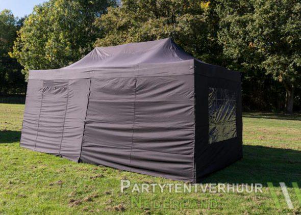 Easy up tent 3x6 meter zijkant huren - Partytentverhuur Roosendaal