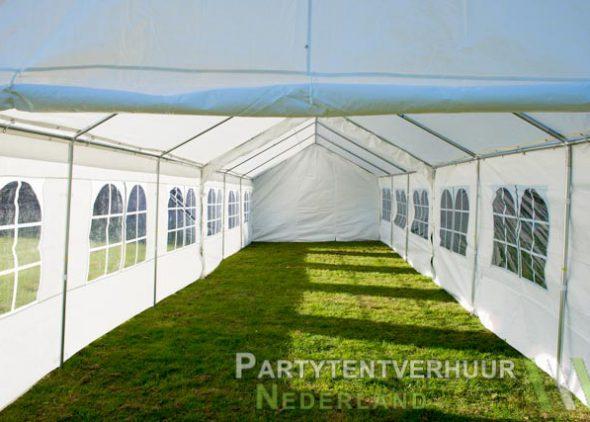 Partytent 6x12 meter binnenkant huren - Partytentverhuur Roosendaal