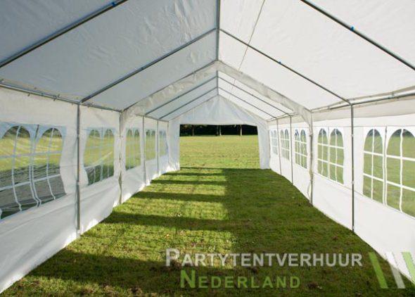 Partytent 6x12 meter binnenkant open huren - Partytentverhuur Roosendaal