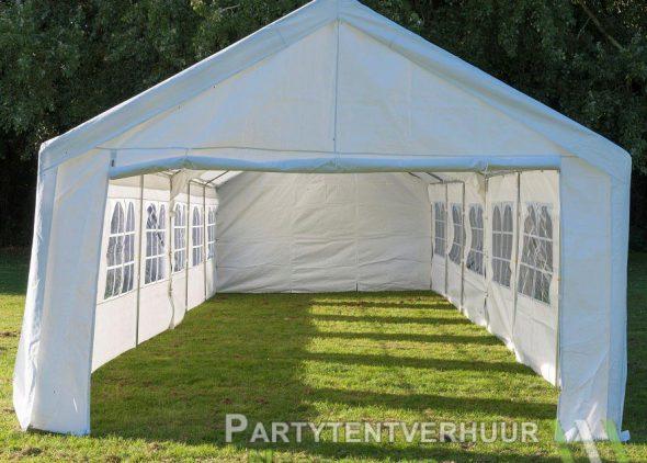 Partytent 6x12 meter voorkant huren - Partytentverhuur Roosendaal