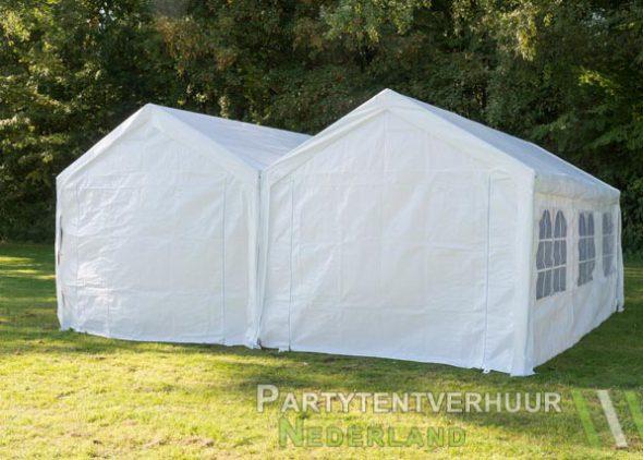 Partytent 6x6 meter achterkant huren - Partytentverhuur Roosendaal