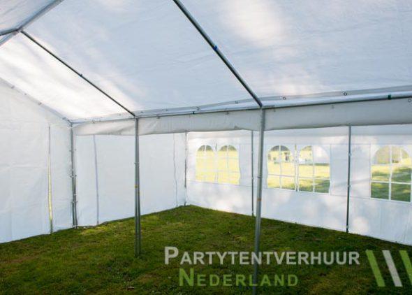 Partytent 6x6 meter binnenkant huren - Partytentverhuur Roosendaal