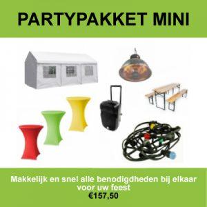 Partypakket huren in Roosendaal