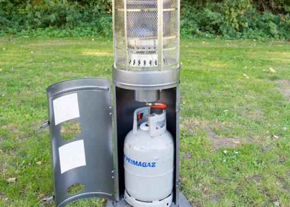 Gasheater met gasfles huren - Partytentverhuur Roosendaal